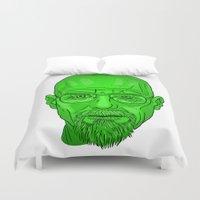 heisenberg Duvet Covers featuring Heisenberg by GiugDrum
