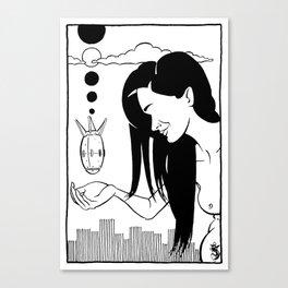 #10 Canvas Print