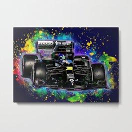 Daniel Ricciardo car Metal Print