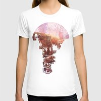 kids T-shirts featuring Secret Streets by David Fleck