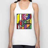 window Tank Tops featuring Window by Akehworks