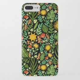 Sunshine Botanical - Dark Version iPhone Case