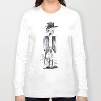 chaplin Long Sleeve T-shirts featuring CHAPLIN by Halley's Coma