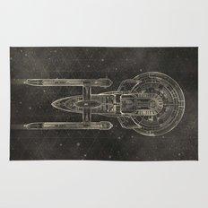 NCC-1701 Rug
