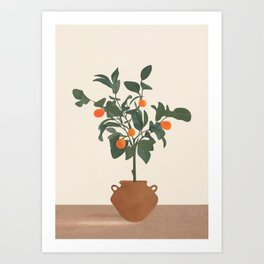 Kumquat Art Print
