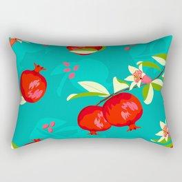 Pomegranate pattern #8 Rectangular Pillow