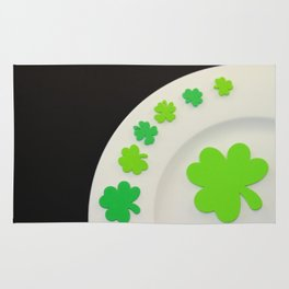 St. Patrick's Day Plate Rug