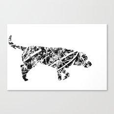 Labrador Scribble Canvas Print