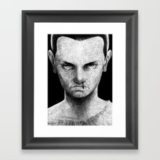 Mental (without text) Framed Art Print