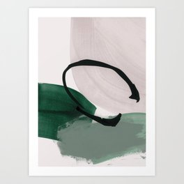 minimalist painting 01 Art Print