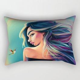 A Frozen Second Rectangular Pillow
