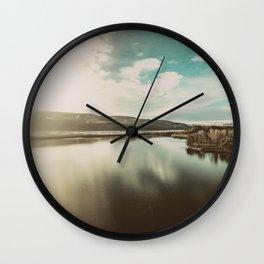 Columbia Hills Wall Clock