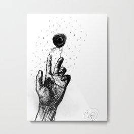 Hold my hand again Metal Print