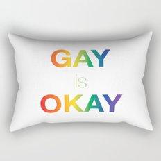 Gay is Okay Rectangular Pillow