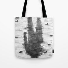 Oyster Catchers Tote Bag