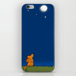 Fly me to the moon iPhone Skin