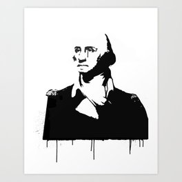 George Washingtear Art Print