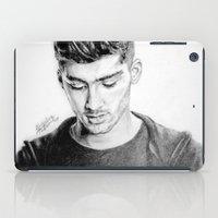 zayn iPad Cases featuring Zayn by Drawpassionn