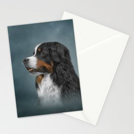 Drawing Bernese Mountain Dog 10 Stationery Cards