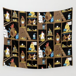 Chicken Coop 2020 Wall Tapestry
