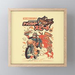 Ramen Rider Framed Mini Art Print