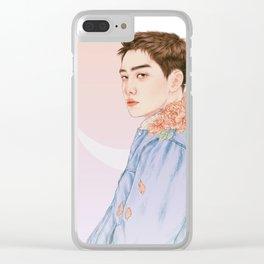 evening sky [d.o. kyungsoo exo] Clear iPhone Case