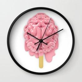 Popsicle brain melting Wall Clock