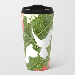 Leaf Bird Travel Mug