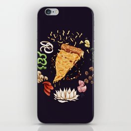 Pizza Mandala iPhone Skin