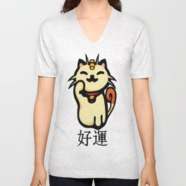 fe26d0411 Meowth V Neck T Shirts | Society6