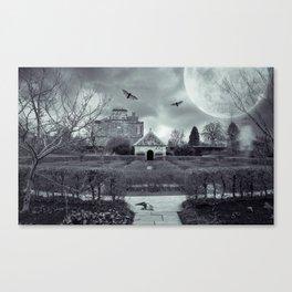 Queen Mother's Memorial Garden Canvas Print