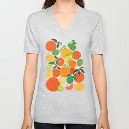 Citrus Harvest Unisex V-Neck