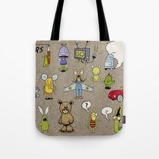 Small Monsters Tote Bag
