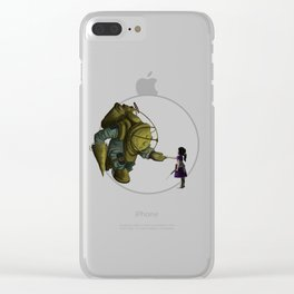 Thorn in the Lion's Paw Clear iPhone Case