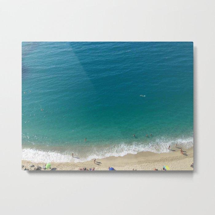 Italian Beach 1 Metal Print
