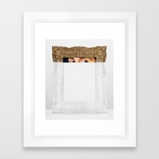 Sight Line Framed Art Print