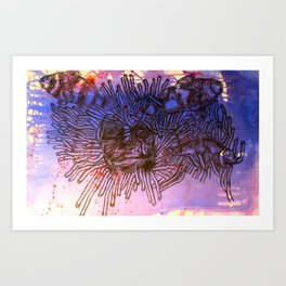 Coulrophobia Art Print