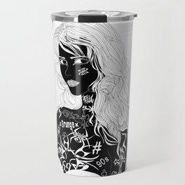 Tattooed Girl Travel Mug