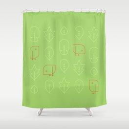 Birds! Spring! Shower Curtain