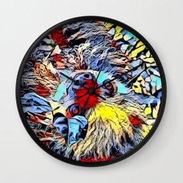 Color Kick -Sloth 2 Wall Clock