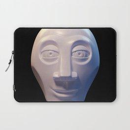 Alien-human hybrid head Laptop Sleeve
