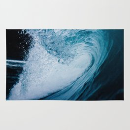 In The Barrel Of A Wave Tube Rug