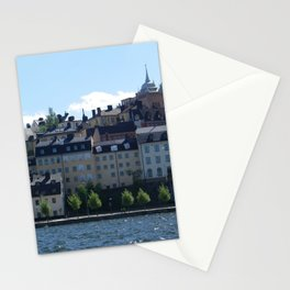 Stockholm by the Water Stationery Cards