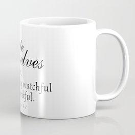 Devote prayer watchful thankful,Colossians 4:2,Christian BibleVerse Coffee Mug
