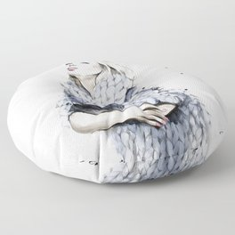 Falling For You Floor Pillow