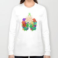 lungs Long Sleeve T-shirts featuring lungs by Taylor {GANGST★R}