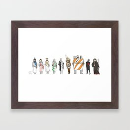 monty python and the holy grail Framed Art Print