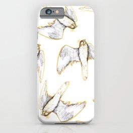 Golden sky falcon iPhone Case