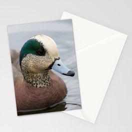 Blue Beak Duck Stationery Cards