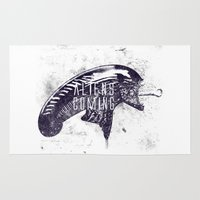 ripley Area & Throw Rugs featuring Aliens are coming by Li.Ro.Vi
